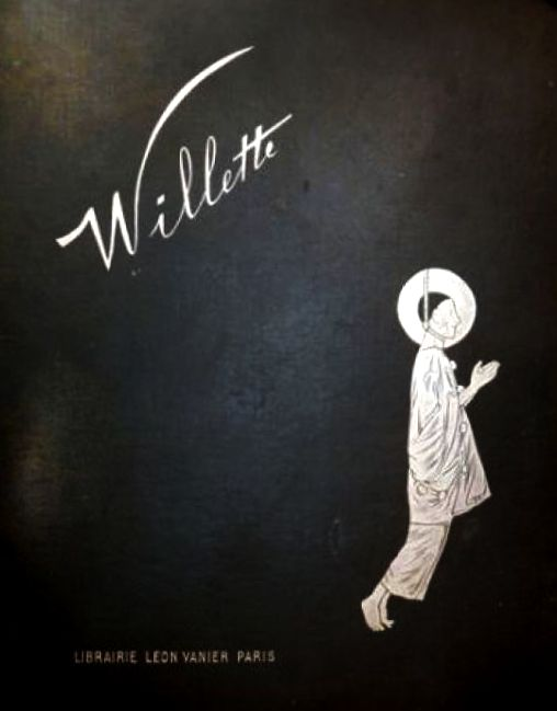 Willette, Adolphe: Pauvre Pierrot, 1885, Originaledition Cover